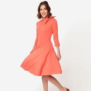Pantone Living Coral Dress